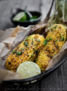 Grilled corn with jalapeño lime butter Grilling, Lime, Butter, Vegetables, Blog, Lima, Crickets, Veggies, Vegetable Recipes