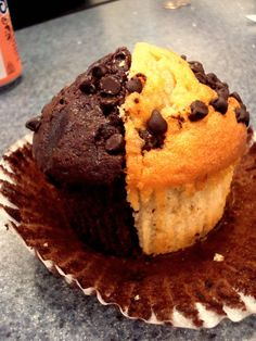 """""""best of both worlds"""" muffin"""
