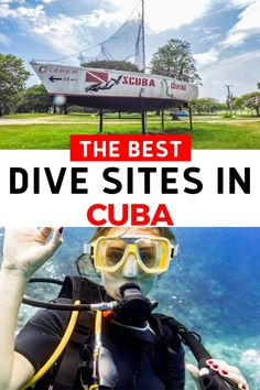 Affordable, accessible and unusual. There are many reasons that scuba diving in Cuba is recommended for experienced and new divers. This guide looks at four popular diving spots in Cuba including the historic Bay of Pigs, the freshwater hole at Cueva de Los Peces, postcard-perfect Playa Ancon near Trinidad and Guardalavaca near Holguin. As well as some tips for those who prefer to snorkel with the fish and the coral of Cuba. Best Snorkeling In Oahu, Central America, North America, Travel Guides, Travel Tips, Cuba Itinerary, Diving Thailand, Holguin, Maldives Travel