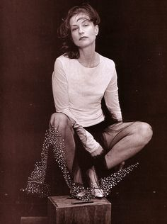 Photos PETER LINDBERGH : Isabelle Huppert