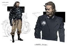 Some more MGSV concepts - CYBER HELL