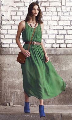 Diane Silk Maxi Dress - Club Monaco Dresses - Club Monaco