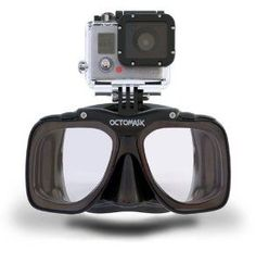 Amazon.com: Diving / Scuba Mask with GoPro Hero 3 Mount: Sports & Outdoors