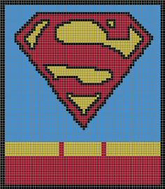 how to make superman symbol graph