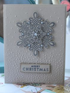 Hi everyone! Today I'm thrilled to share two beautiful cards created by Stacy McCain, a Demonstrator in Boise, Idaho. Not only are the cards...
