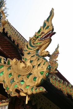 Sacred Dragon, Wat Doi Suthep, Chiang Mai, Thailand