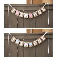 Wish | I AM ONE Bunting Banner Baby 1st Birthday Hanging Flag Party Garland Decor 2.5M