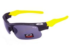 Oakley Fast Jacket Semi-Rimless Yellow CRW