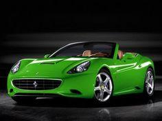 GREEN Ferrari California