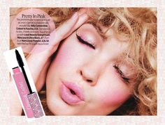 LOOK Magazine's 'Pretty in Pink' beauty shoot...