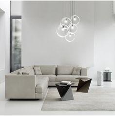 Minimalist Modern Glass Ball Pendant Ceiling Light