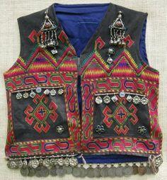 A child's waistcoat from Indus Kohistan, Pakistan