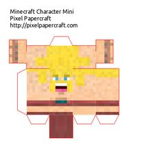 Papercraft Clash of Clans Barbarian Skin
