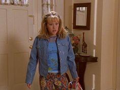 Twelve of Lizzie McGuire's Best Outfits   Exceptional Floral Pants Lizzie