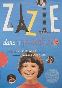 Zazie Dans Le Metro 2009 Original Japanese Movie Poster Louis Malle | eBay