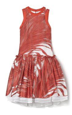 Prabal Gurung Drop Waist Cocktail Dress