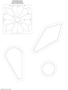 Quiero Aprender Patchwork: BLOQUE 4 - DRESDEN PLATE