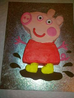 Children's+Birthday+Cakes+-+Peppa+pig+cake.