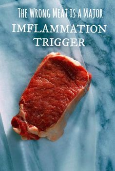 Not ALL meat is bad, but see which kind is the worst when it comes to inflammation.