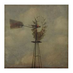 Our Vintage Windmill Canvas Art Print is everything you love about country livin'. This windmill print has a chic simplicity that embodies your farmhouse style! All Sale, Canvas Art Prints, Wall Art Decor, Farmhouse Style, Life Is Good, Painting, Vintage, Spain, Texas