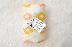 Crib Sheet or Changing Pad Cover  Neutral Baby by westandarrow