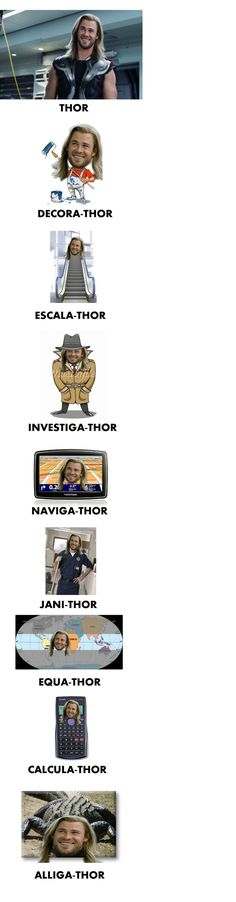 Thor. This one is for @Shea
