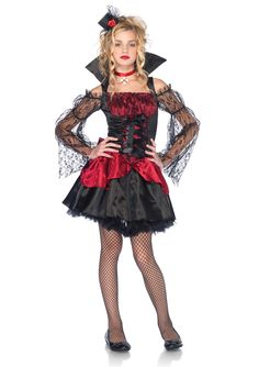 (Limited Supply) Click Image Above: Teen Victorian Vampire Costume - Vampire Costumes Scary Kids Costumes, Gothic Halloween Costumes, Best Friend Halloween Costumes, Costumes For Teens, Cute Costumes, Girl Costumes, Halloween City, Halloween College, Toddler Halloween