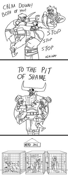 Dragon age - The pit of shame by Kelgrid on DeviantArt