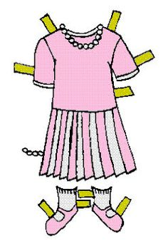 """Heather Paper Doll - MaryAnn - Picasa Webalbum* 1500 free paper dolls at artist Arielle Gabriel""""s The International Paper Doll Society also free China paper dolls The China Adventures of Arielle Gabriel *"""