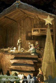 Christmas Crib Ideas, Christmas Manger, Christmas Nativity Scene, Childrens Christmas, Christmas Activities, All Things Christmas, Christmas Time, Christmas Crafts, Christmas Decorations