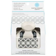 Martha Stewart Crafts Bangle Chain Double-Edge Trim Punch in Package