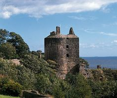 Ravenscraig Castle, Kirkcaldy, Scotland.  Fond childhood memories of this place. My grandparents and my father lived in a tenement building next to this castle with this exact same view.  I've spent many a happy hour playing in the park behind the castle and along the beach. I miss it and hope to return someday.