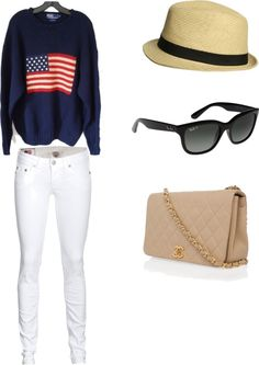 Fourth of July, created by lafitte1 on Polyvore