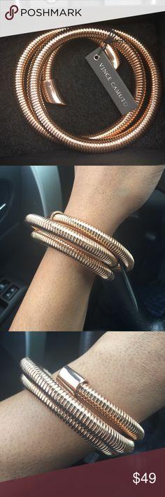 Vince Camuto | Rose Gold Bracelet Stunning bracelet! Vince Camuto Jewelry Bracelets