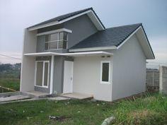 Tips Bangun Rumah Murah 25 Juta Good House, Simple House, My House, Best House Plans, Small House Plans, Madonna House, Modern Minimalist House, Cheap Houses, Home Room Design