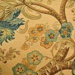 BARCLAY BUTERA TEXTILES - BRITISH COLONIAL COLLECTION - EMERALD COLONIAL
