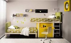 Stapelbedden niet hip voor de inrichting van je slaapkamer? | Inrichting-huis.com