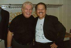 Johnny with Adalberto Santiago