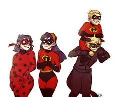 Incredibles crossover