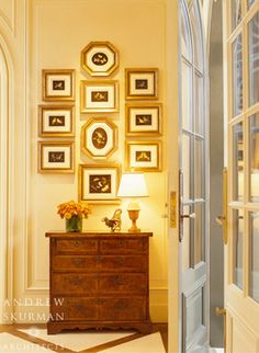 A Townhouse - traditional - hall - san francisco - Andrew Skurman Architects
