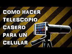 ▶ Como Hacer Telescopio Casero para un Celular o Móvil (Experimentar En Casa) - YouTube