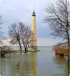 """Grand Lake Lighthouse aka """"Northwoods Lighthouse"""" on Grand Lake, St. Lighthouse Pictures, Grand Lake, Lake Erie, Ansel Adams, Le Moulin, Photos Du, Belle Photo, Places To See, Beautiful Places"""
