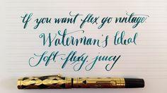 Handwritten Post - So You Want A Flex Pen