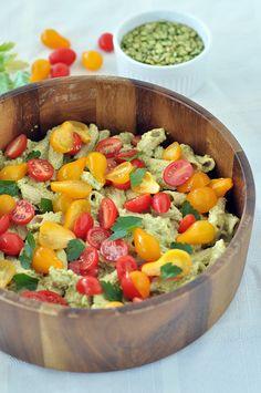 Pea Pesto Pasta Salad - Pulse Pledge