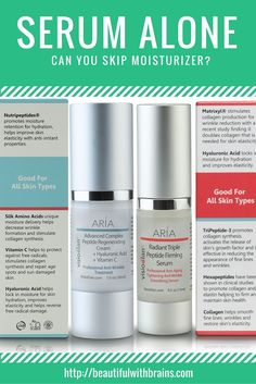 If you have oily skin, you may be tempted to skip the moisturizer and use only serum. But, is this a good idea? Can a serum do the job of a moisturizer too, or do you need both? Click through to find out. via @giorgiabwb