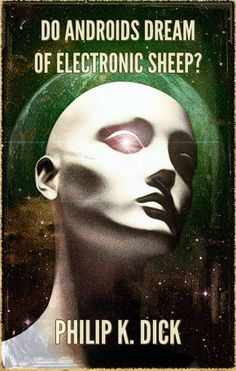 Do androids dream of electric sheep?this is the book Blade Runner is based on .have been looking for it for ages. Blade Runner, Book Cover Art, Book Cover Design, Book Covers, Good Books, Books To Read, My Books, Philip K Dick, Electric Sheep
