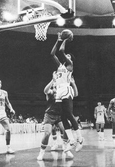 Barack Obama playing university basketball at Punahou in 1979