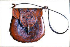 The Lohikaarme Leather Handbag  Dragons Fire Snake by sevenannine, $275.00