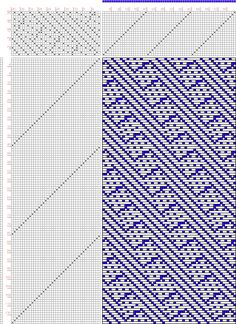 draft image: 20 sur 40, Planche A, No. 4, P. Falcot: Traité Encyclopedique et Méthodique de la Fabrication Des Tissus, 20S, 40T