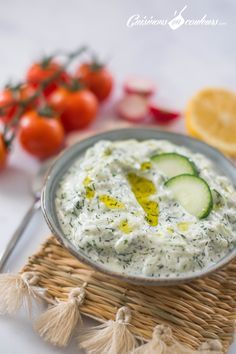 Tzatziki, Garlic Cheese Bread, Finger Foods, Hummus, Tapas, Food And Drink, Appetizers, Cooking Recipes, Ethnic Recipes